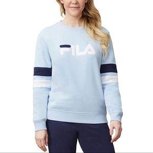 FILA Natalie Crewneck Sweatshirt Blue Activewear